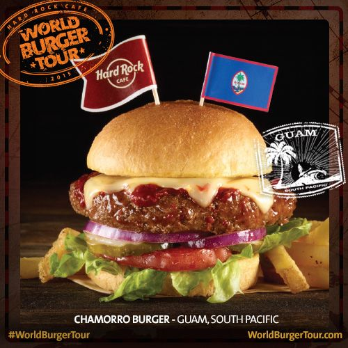 Chamorro Burger - GUAM, PACÍFICO SUL #WorldBurgerTour