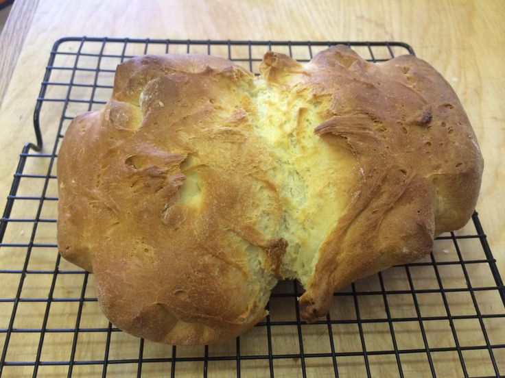La video ricetta del pane fatto in casa piu' veloce del mondo