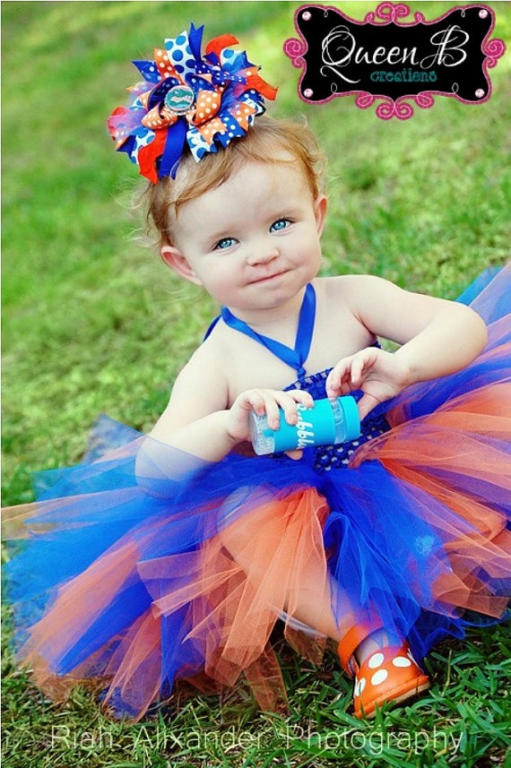 Gators tutu dress! Great for a photo shoot @Meredith Tucker need to get for Ava