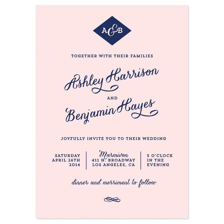Best 25+ Wedding invitation wording templates ideas on Pinterest - fancy invitation templates
