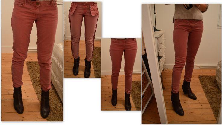 Dans vos placards se trouve surement un pantalon dont la coupe ne vous plait plus ou qui s'est détendu et ne vous va plus parfaitement. Etant dans le même cas j'ai trouvé il y a quelques temps la solution idéale sur pinterest http://www.thevaultfiles.com/2012/04/tips-file-from-straight-to-skinny.html...