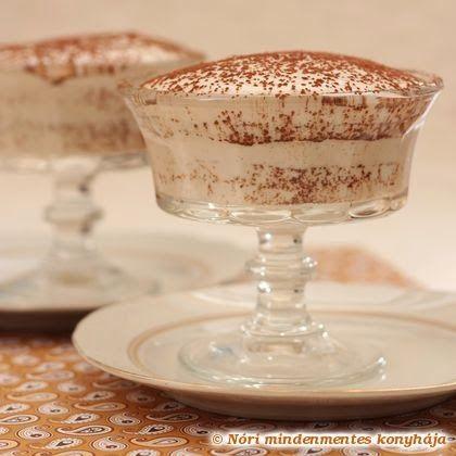 Nóri mindenmentes konyhája: Tiramisu mindenmentesen (cukor-, glutén-, tejtermék-, tojásmentes, vegán)