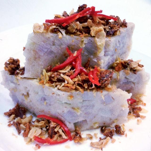 Yam cake DIY - cravings for this M'sian tea time favourite resolved!: Tea Time, Malaysian Treat, Yam Cakes, M Sian Tea