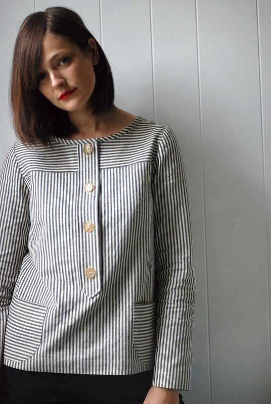 Wiksten: i can't quit you, a.p.c. top
