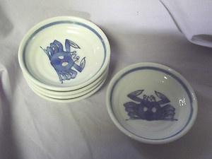 vintage soshu plates or bowls