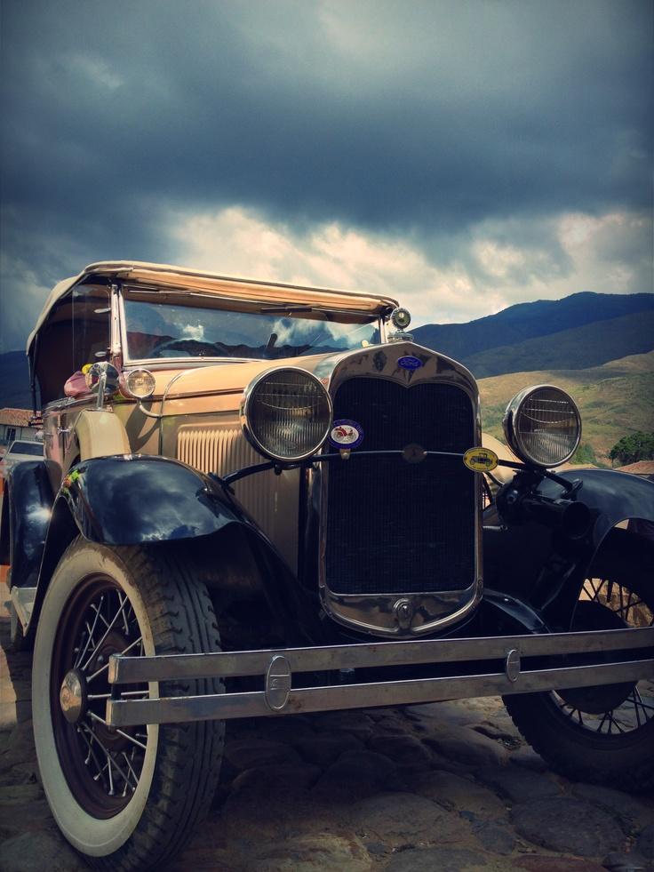 Carro antiguo - Villa de Leyva