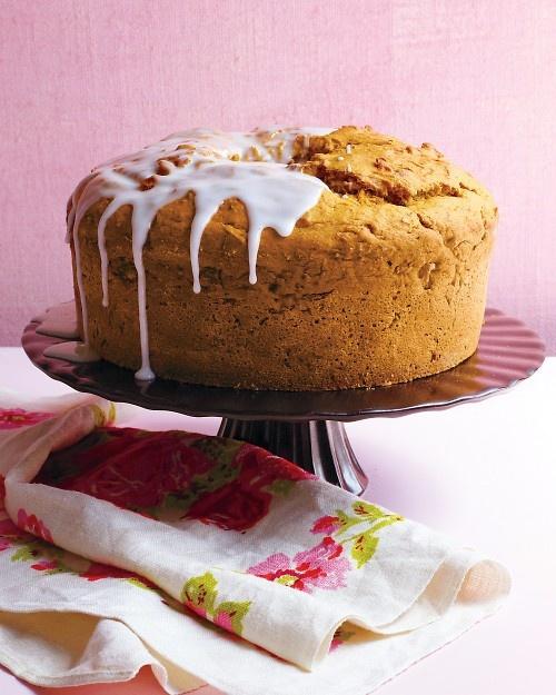 Citrus-Glazed Pumpkin-Carrot Cake - Martha Stewart Recipes