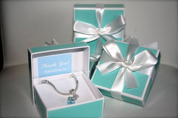 Tiffany Theme Bridal Shower Attendant Gifts Top Shelf Giftwrapping ...