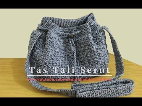 CROCHET How to #Crochet Easy Handbag Purse #TUTORIAL #299 LEARN CROCHET - YouTube