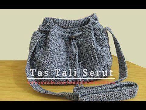 Spiral Crochet Tube for Bag Handles etc. - YouTube