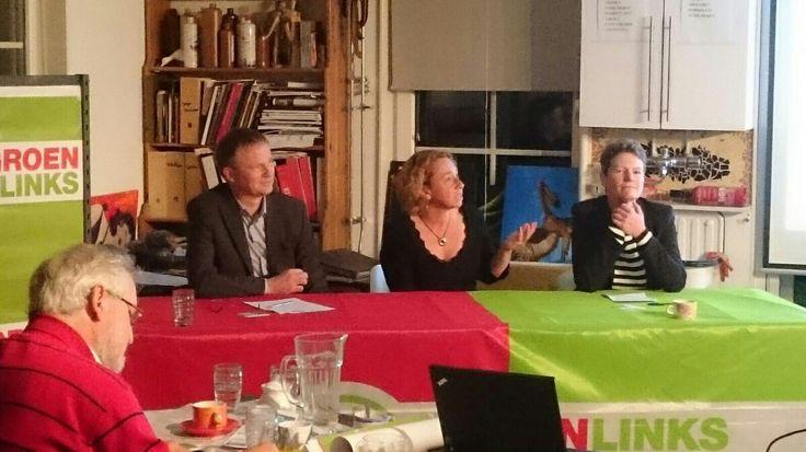 1e Politiek café georganiseerd door GL Lansingerland