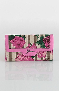 Guess Azura Multi Clutch, pink