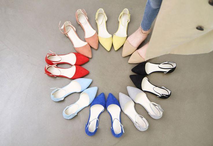 10's trendy style maker 66girls.us! Ankle Strap D'Orsay Flats (DGTN) #66girls #kstyle #kfashion #koreanfashion #girlsfashion #teenagegirls #fashionablegirls #dailyoutfit #trendylook #globalshopping