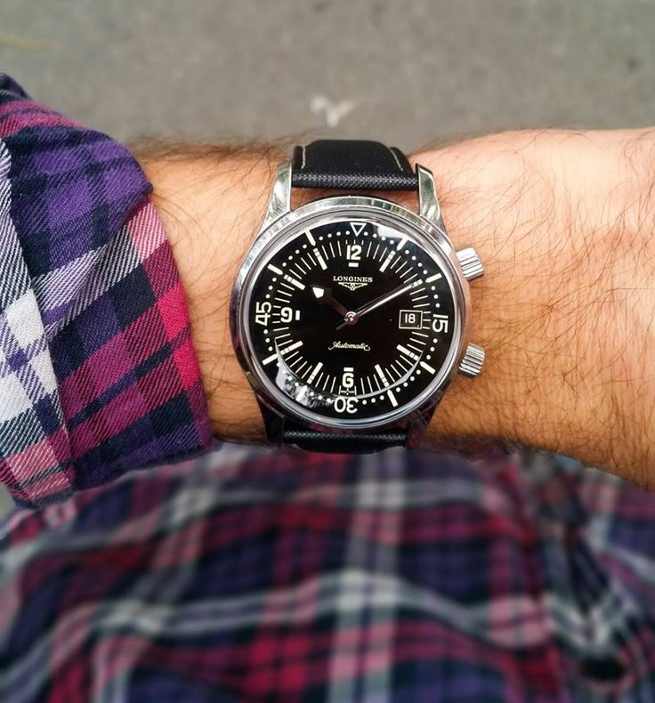 Longines Legend diver watch the remake of the unforgetable diver watches by Longines