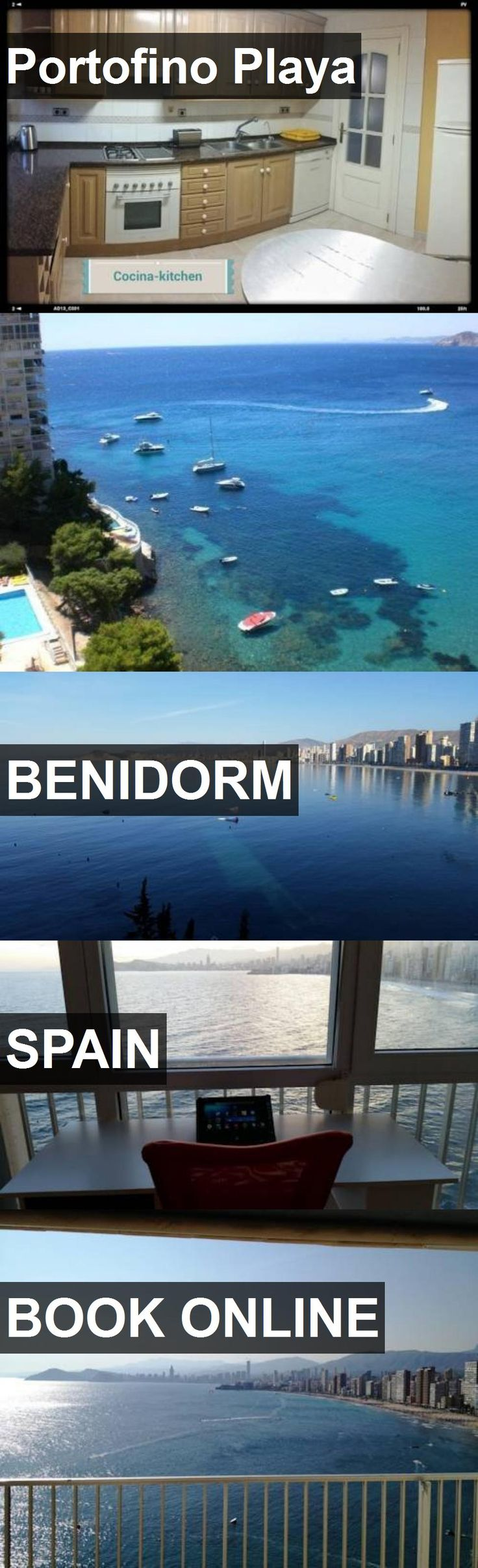 Hotel Portofino Playa in Benidorm, Spain. For more information, photos, reviews and best prices please follow the link. #Spain #Benidorm #travel #vacation #hotel