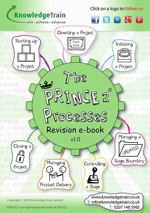 The funkiest PRINCE2 Processes revision guide on the internet. Your PRINCE2 Foundation course lasts about 3 days - that's a lot of information to take in. This e-book has been designed with the anxious student in mind, using simple descriptions and a graphical, cartoon-style mind map for each PRINCE2 Process. Click the image to download the PRINCE2 Processes e-book and you'll be one step closer to passing that exam! #prince2  #project #management #exam #foundation #manager #course #ebook