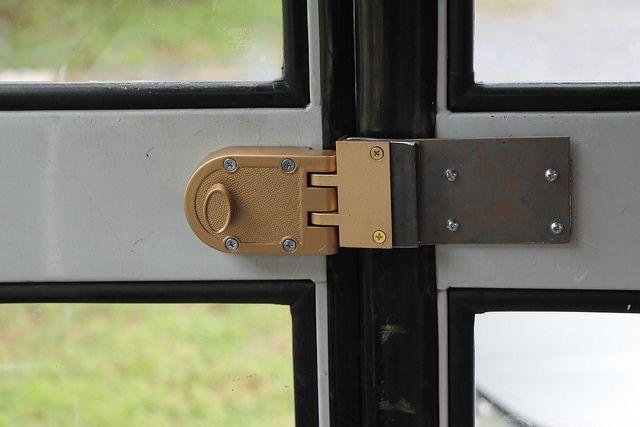 locking your accordian door