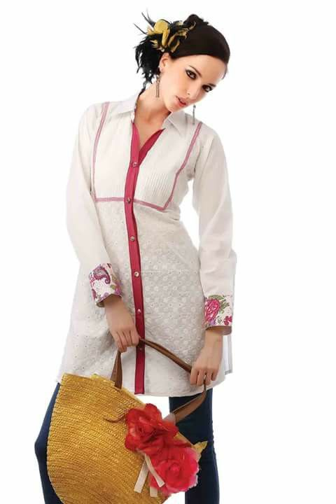 #casual #kurtis @ http://zohraa.com/white-cotton-casual-kurti-88053.html #casualkurtis #celebrity #zohraa #onlineshop #womensfashion #womenswear #bollywood #look #diva #party #shopping #online #beautiful #beauty #glam #shoppingonline #styles #stylish #model #fashionista #women #lifestyle #fashion #original #products #saynotoreplicas (Shipping : Your order will be shipped within 1 day from the date of purchase)