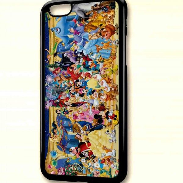 Disney All Character 1 P01 for iPhone Case, iPhone 6/6S/6/6S Plus Case, iPhone 5S Case, iPhone SE Case, Samsung Galaxy Case – Positeeve