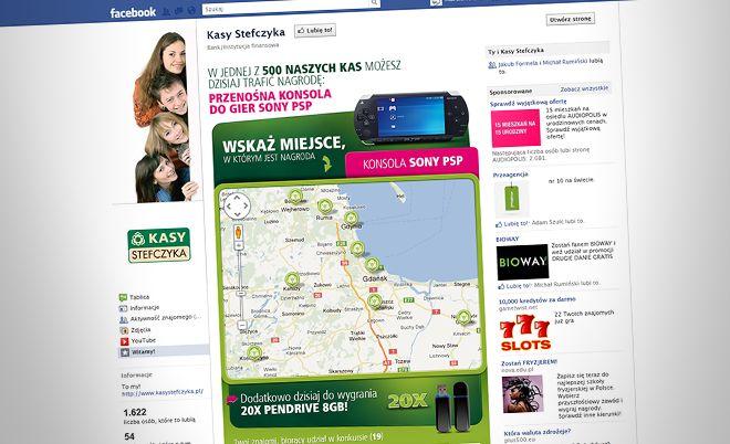 "Kasy Stefczyka: ""Traf do Kasy"" Facebook application - Jamel Interactive interactive agency Gdansk, Tricity"