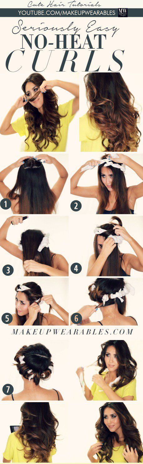 """Wavy hairstyles play an important part for women's hairstyle trends. The natural looks are becoming more and more popular these days. So it will be a good idea to try out some no-heat waves for your new style. Besides, they will do no harm to your long tresses and are very easy to achieve. Today, … Continue reading """"10 Easy Ways to Get No-Heat Waves"""""""
