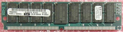 32MByte-SIM-Speichermodul - ECC-Parity  Gebraucht, technisch OK  hier ab 1,--€  Techn. Daten: Speichertyp FPM-DRAM (Fast page Mode) Gesamtkapazität 32MByte - 36 Bit Breite Anzahl der Module 1 Formfaktor SIMM 72-pol. Kompatibel zu D4892-69001, D4892-63001, D4891-63001