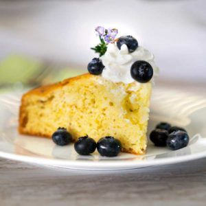 What would you say if I told you this amazingly moist and flavorful Lemon Rosemary Cake is from a diabetic cookbook? It is, and it is one delicious, light cake. With glazed blueberries and a pop of w [...]