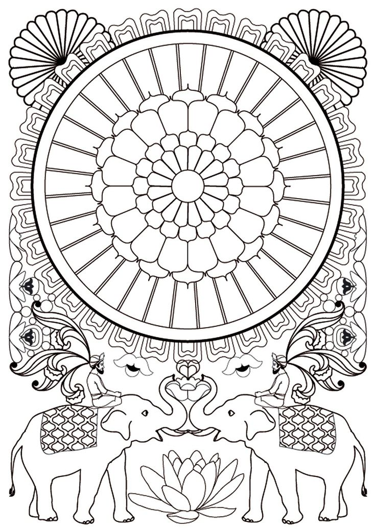 art therapie 100 mandalas anti stress french. Black Bedroom Furniture Sets. Home Design Ideas