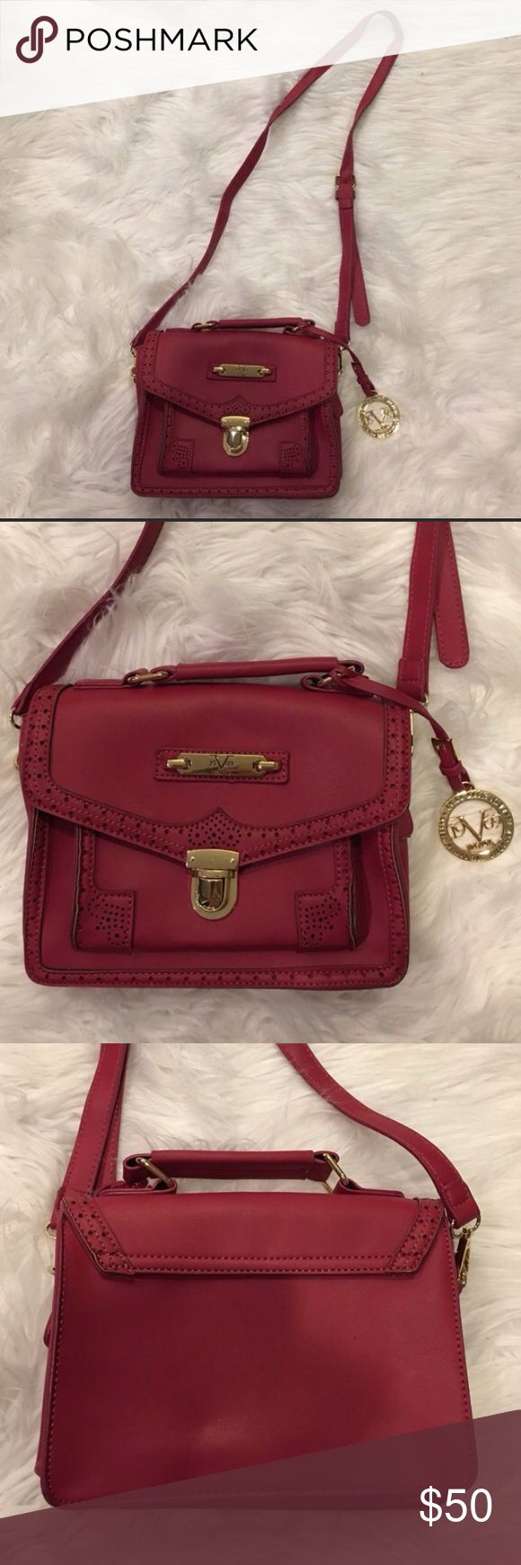 Versace 19.69 Abbigliamento Sportivo Bag From Milan, Italy. Faux leather. In excellent condition. Crossbody with adjustable shoulder strap. This brand is not the same as Versace official. Like new and the last of it's kind... make an offer! Bags Crossbody Bags