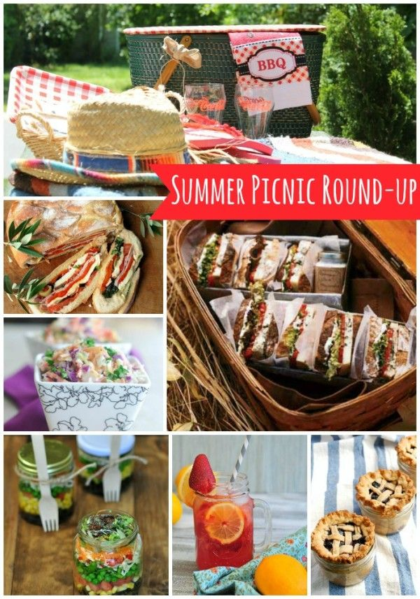 Summer Picnic foods...some great picnic recipes here.