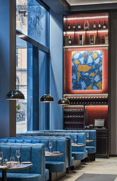 M Restaurant, London by Rene Dekker Design