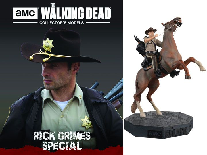 #transformer the walking dead figure special - #1 rick grimes