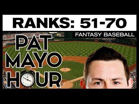 2017 Fantasy Baseball Rankings: No. 51 to No. 70 Overall Rankings Debate, ADP & Sleepers