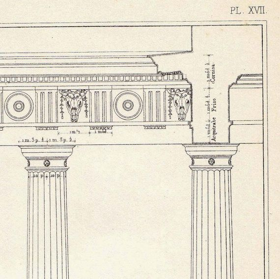 Greek Architecture Drawings 105 best architettura images on pinterest | architecture