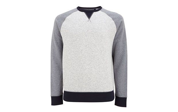 """Sporty Sweatshirt. """"For easy casual dressing, you can't go wrong with clean lines of this sporty sweatshirt."""""""