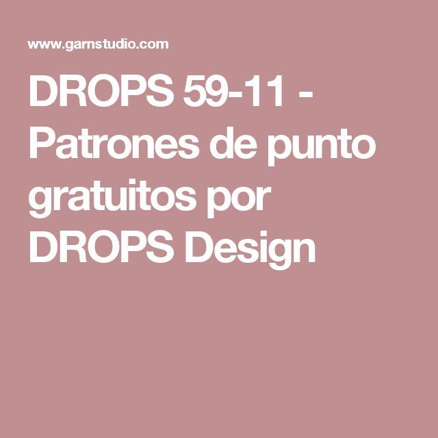 DROPS 59-11 - Patrones de punto gratuitos por DROPS Design