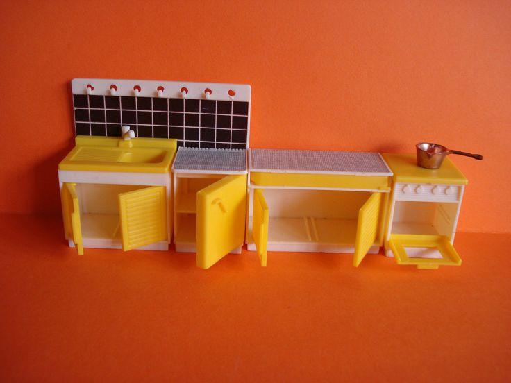VINTAGE DOLLS HOUSE - JEAN OF WEST GERMANY KITCHEN SET - LUNDBY SCALE - VGC | eBay
