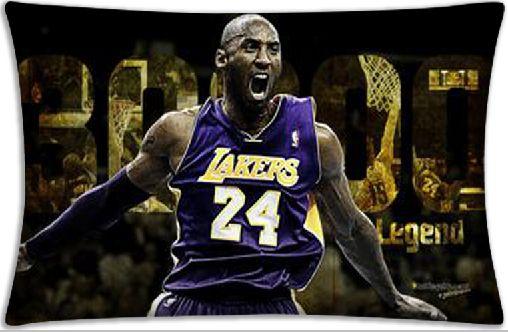 Classic Kobe Bryant custom pillow case forever Kobe Bryant zipper pillowcase