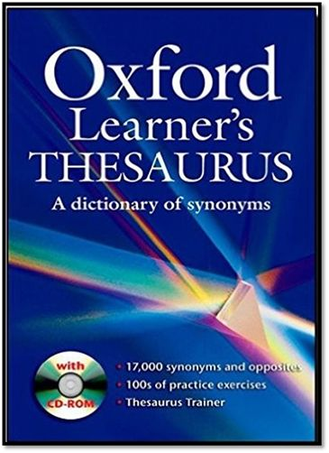 [PDF+CDROM] Oxford Learner's Thesaurus A Dictionary of Synonyms | Sách Việt Nam