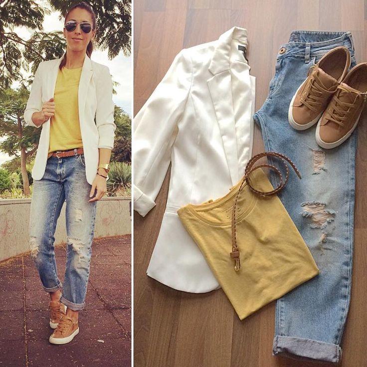 """""""Sé selectivo en tus batallas a veces es mejor tener paz que tener la razón""""   Miércoles: Comfy look  - Camiseta #basic de @stradivarius - Pantalones #boyfriendjeans de @zara - Blazer de @hm - Zapatillas y cinturón de @stradivarius  #outfit#outfitoftheday#look#lookoftheday#today#wednesday#comfy#blog#blogger#instablogger#fashion#fashionblogger#fashionista#instafashion#style#instastyle#ootd#ootdmagazine#magazine#tagsforlikes#beauty#instabeauty#shopping#trendy#inspiration#chic by guaximara"""