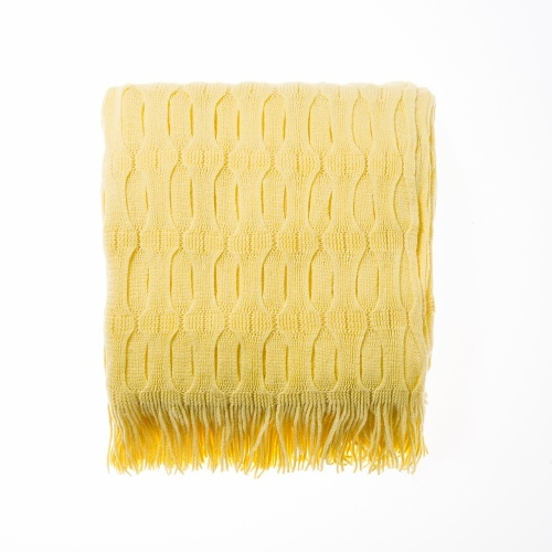 YEllow Throw for lounge