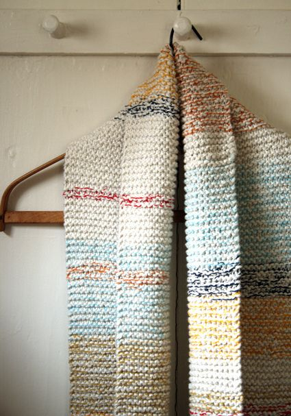 Whit's Knits: Striped Cotton Cowl | Flickr - Photo Sharing!