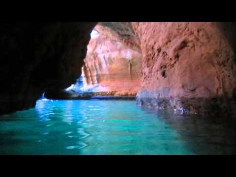 Secret Cave at Wadi Shab, Oman
