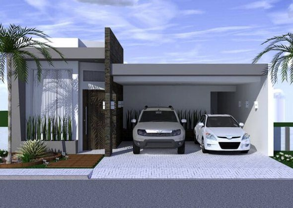 Modelos de Plantas de Casas 3 Quartos Acabou de comprar um terreno e está planejando construir uma ampla casa que traga espaço, conforto e qualidade de vida