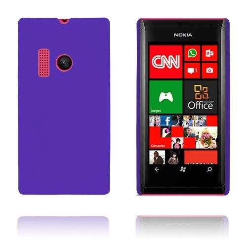 Hard Shell (Lilla) Nokia Lumia 505 Cover