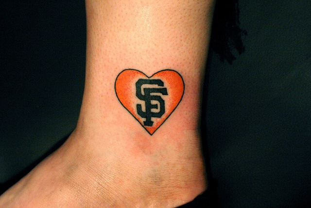 15 best SF Giants Tattoos images on Pinterest Tattoo