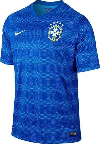 2ff626227d6 Nike Brazil Short Sleeve Away Match Jersey (Varsity Royal)   Clothing