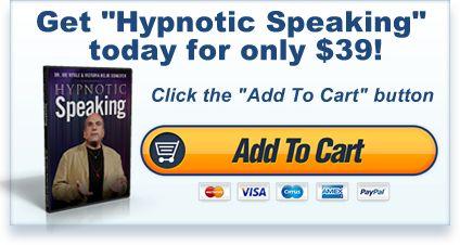 Hypnotic Speaking by Dr. Joe Vitale