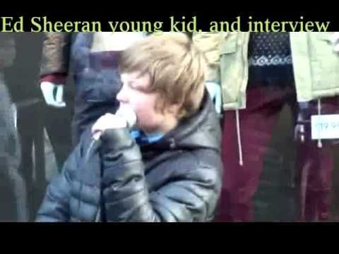 Ed Sheeran young kid and interview after his concert in Manila Philippines - YouTube
