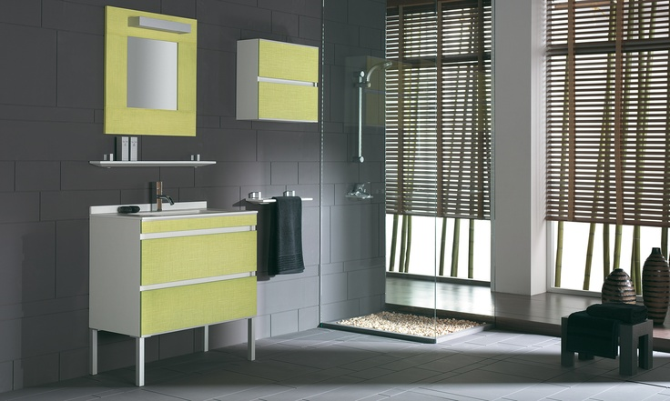 Love this bathroom..it´s yellow Fiora Touch Your Bathroom